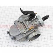 Карбюратор 2T/4T 150-200cc (SPORT, дросель ручной, Ø26мм, оригинал) (KEIHIN)