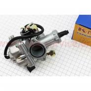 Карбюратор (Viper zs150j, СВ/CG-150) (Ø27мм, дроссель под трос, с ускорительным насосом) (KNG)
