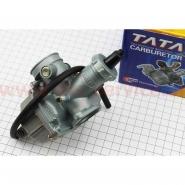 Карбюратор (Viper zs150j, СВ/CG-150) (Ø27мм, дроссель ручной) (TATA)