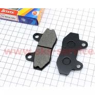 Тормозные колодки дисковые (без ушей) (TATA)