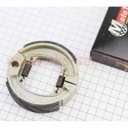 Тормозные колодки (барабанные) Honda DIO / TACT (Mototech)