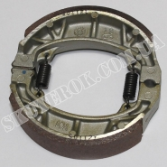 Колодки тормозные задние (SYM Allo 50, Jet4 Naked/50, Orbit 50)