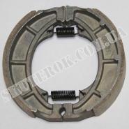 Тормозные колодки задние (литое колесо) (Viper zs125j / zs150j)