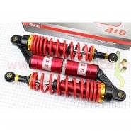 Амортизаторы задние газовые 320мм (пара, красные)
