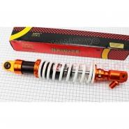 Амортизатор задний 350мм (10/10;8мм, регул., тюнинг, белый, 1шт) (NAIDITE)