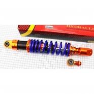 Амортизатор задний 350мм (10/10;8мм, регул., тюнинг, синий, 1шт) (NAIDITE)