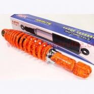 Амортизатор задний (320мм, оранжевый с паутиной) (NAIDITE)
