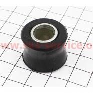 Сайлентблок амортизатора с втулкой Ø10мм (черный)