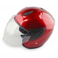 Шлем открытый FGN (mod:522) (красный)