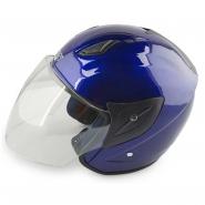 Шлем открытый FGN (mod:601) (синий)