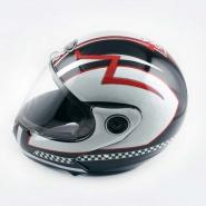 Шлем трансформер FGN (mod:266) (черно-белый)