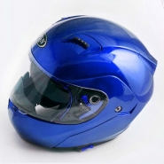 Шлем трансформер FGN (mod:688) (синий, солнцезащитные очки)