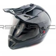 Шлем кроссовый FGN (mod:103) (с визором, карбон)