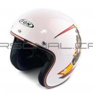 Шлем открытый FGN (FX-510) (белый) SCYTHEMAN