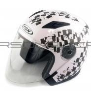 Шлем открытый FGN (FX-512) (белый) SPORT