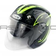 Шлем открытый FGN (FX-512) (черный) ARROW