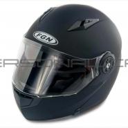 Шлем трансформер FGN (FX-115) (черный матовый)