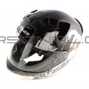 Шлем интеграл LS2 (FF352) (бело-зеленый) ROOKIE ONE