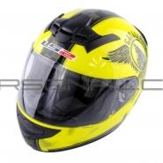 Шлем интеграл LS2 (FF352) (лимонный) FAN
