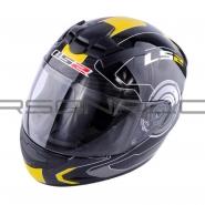 Шлем интеграл LS2 (FF352) (черно-желтый) ROOKIE ATMOS