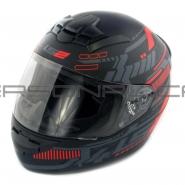 Шлем интеграл LS2 (FF352) (черно-серый) ROOKIE