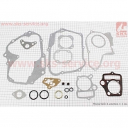 Прокладки двигателя 125cc 52,4мм (Viper Active, Delta, Alpha, zs50f) (комплект)