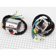 Блоки переключателей (Л+П) (без рычагов) (Viper Delta) (GXmotor)