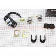 Замок зажигания (комплект) Honda DIO AF18/27 (GXmotor)