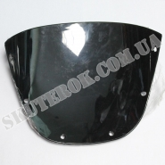 Ветровое стекло (черное) (Viper zs125j / zs150j)