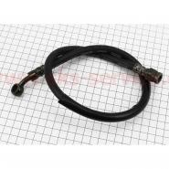 Шланг тормозной задний с резьбовым наконечником (62см)
