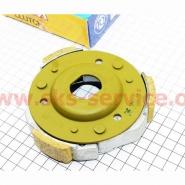 Колодки сцепления заднего вариатора (4T 125-150cc) (TATA)