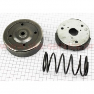 Колодки сцепления заднего вариатора + барабан + пружина торкдрайвера Honda DIO AF18
