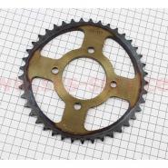 Звезда задняя 428*41 (литое колесо, каленая) (Viper zs125j / zs150j) (B-cycle)