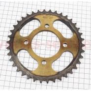 Звезда задняя 428*38 (Viper zs125j / zs150j) (литое колесо, каленая) (Crocodil)