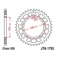Зірка JT JTA1793.45